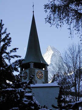 Church bells and the Matterhorn