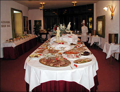 Grand Buffet at Mont Cervin
